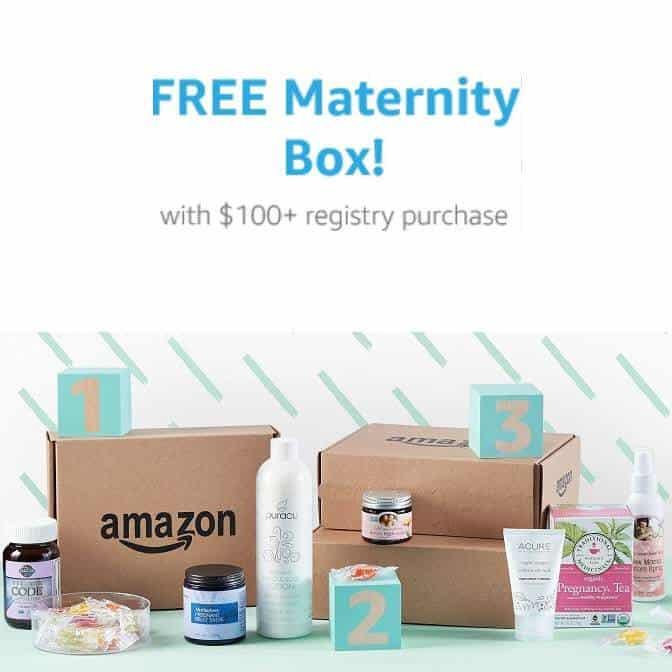 FREE Amazon Maternity Box