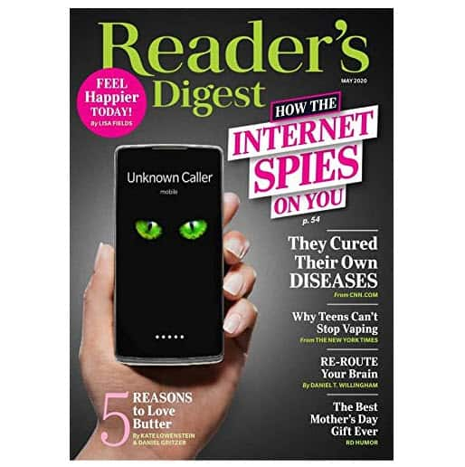 3 Issues of Reader's Digest Only $0.99