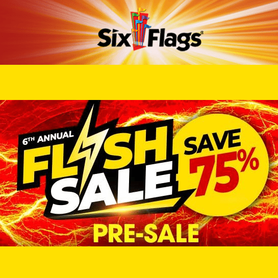 75% Off 2020 Six Flags Season Passes