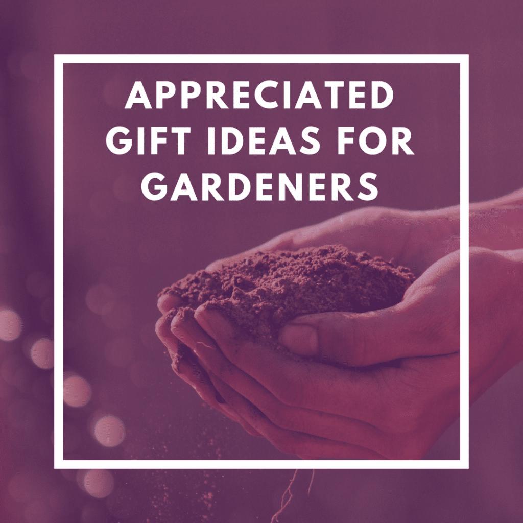 Appreciated Gift Ideas for Gardeners