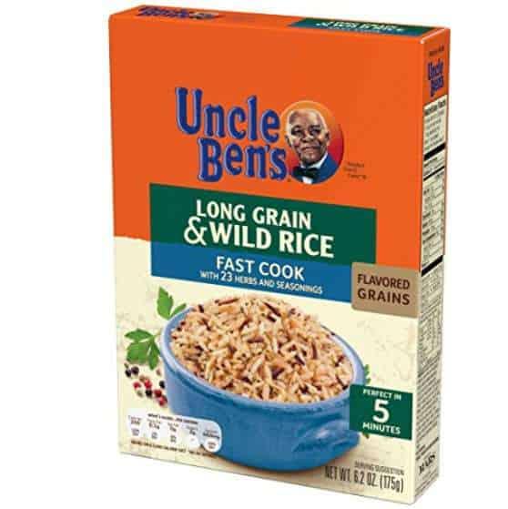 UNCLE BEN'S Flavored Grains: Long Grain & Wild Fast (12pk) Only $16.63