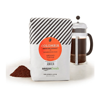 AmazonFresh Colombia Ground Coffee Only $10.17