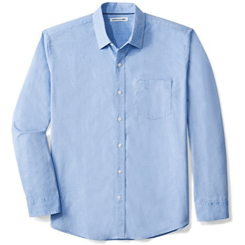 Men's Regular-Fit Long-Sleeve Solid Shirt Only $10.80 (Was $18.00)