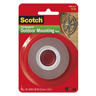 """Heavy-Duty Exterior Mounting Tape 1""""x60"""" Only $3.00 (Was $6.45)"""