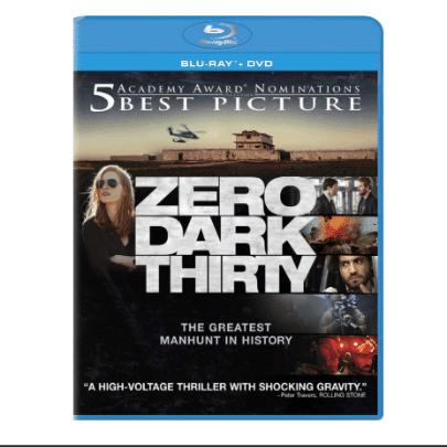 Zero Dark Thirty Blu-ray/DVD Combo Only $5.45