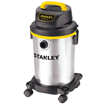 Stanley Wet/Dry Vacuum, 4 Gallon, 4 Horsepower Only $42.37 (Was $59.99)