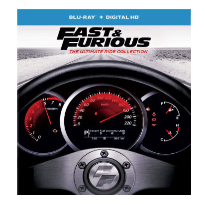 Fast & Furious: The Ultimate Ride Collection [Blu-ray] 1-7 Only $26.99 (Was $59.98)