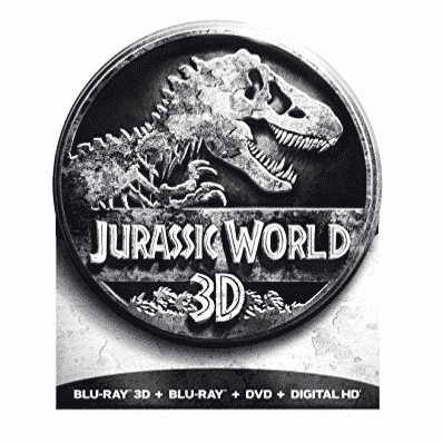 Jurassic World Collectors Edition Steelbook Blu-ray Only $10.15