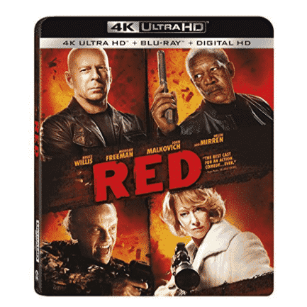 """""""Red"""" Blu-ray Only $9.99"""
