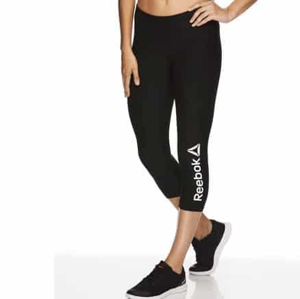 Reebok Women's Quick Capri Branded Leggings .75 (Was )