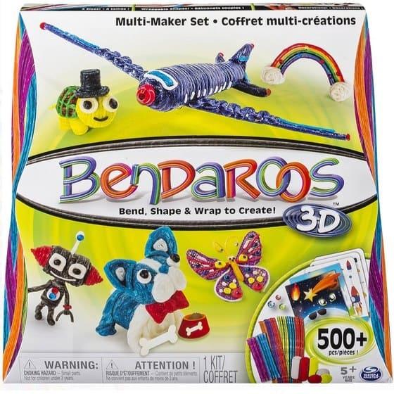 Bendaroos 3D 500 Piece Multi Maker Set Only $9.99 (Was $26.98)