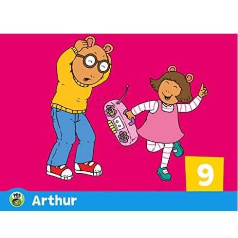 Arthur Season 9 Digital Download Only $1.99