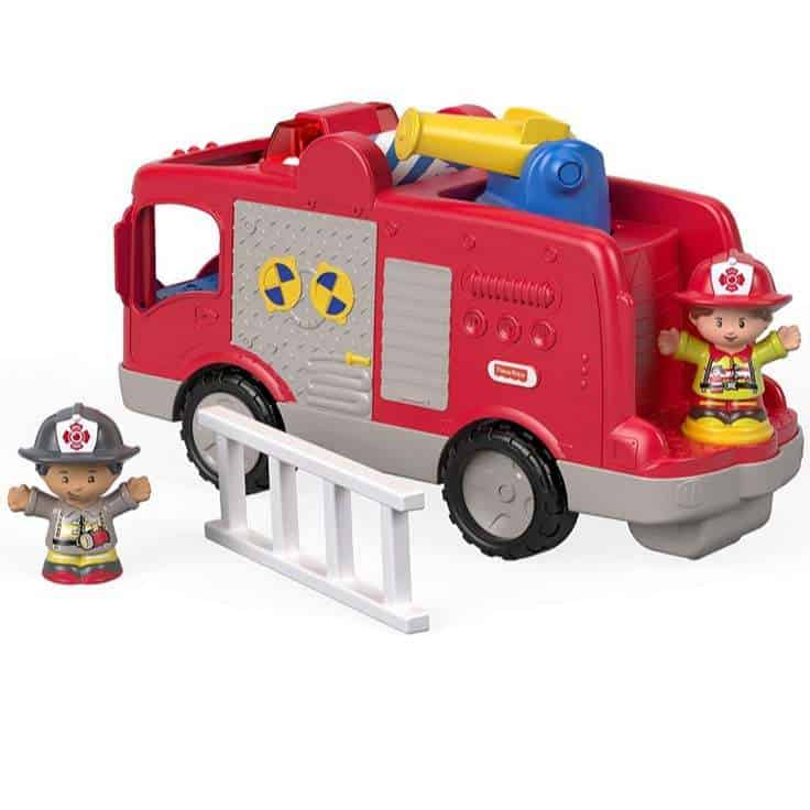 Fisher-Price Little People Firetruck Only $9.84 (Was $28.44)