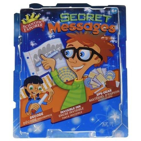Scientific Explorer Secret Messages Kit Only $5.97 (Was $11.99)