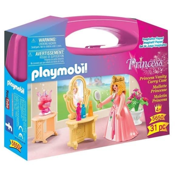 PLAYMOBIL Princess Vanity Carry Case Only $5.70