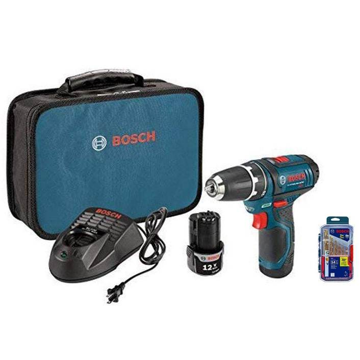 Bosch 12V Max Lithium-Ion 3/8-Inch 2-Speed Drill/Driver Kit $99.99 **Today Only**