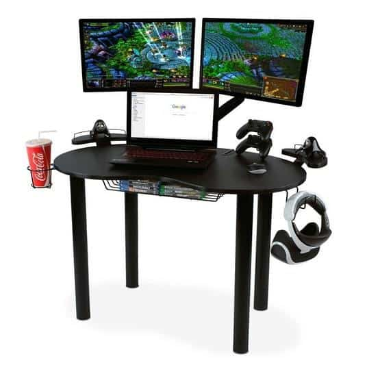Atlantic Space-Saving Gaming Desk $97.99 (Was $149.99)