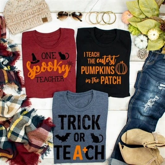 Trick or Teach Tees Only $13.99