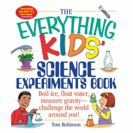The Everything Kids' Science Experiments Book Kindle Edition Only 99¢