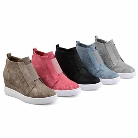 Sneaker Wedges $27.99