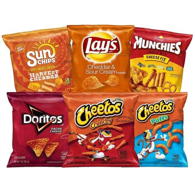 Frito-Lay Cheesy Mix Variety Pack 40-Count Only $10.52
