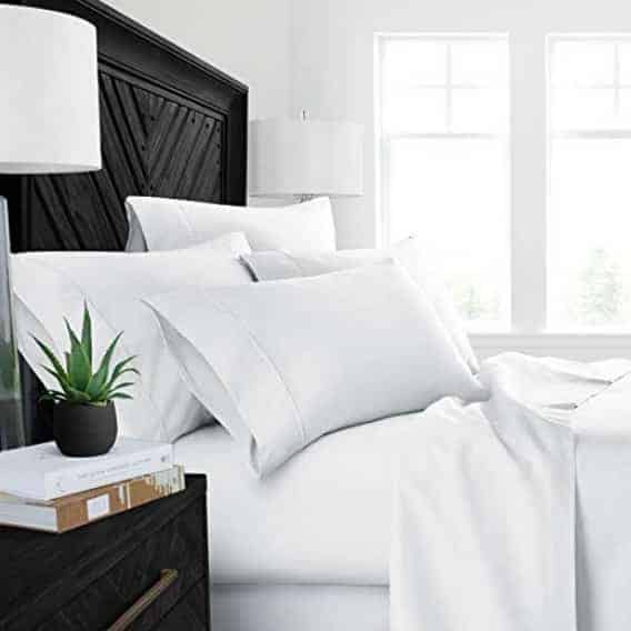 Up to 53% Off Mayfair Linen Egyptian Cotton Sheet Sets ~ Multiple Colors Available **Today Only**