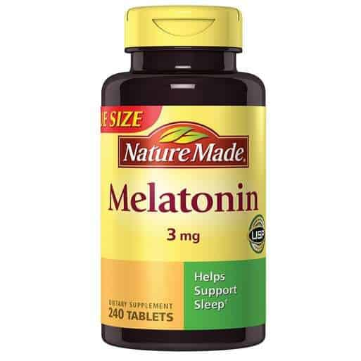 Nature Made Melatonin Tablets 240 Count Only $5.48