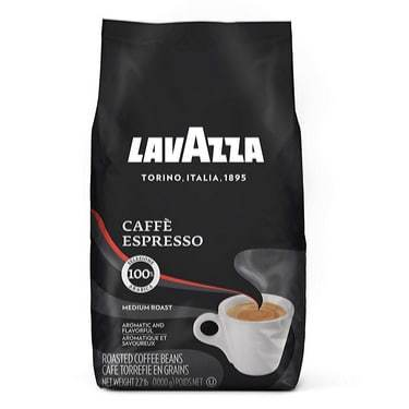 Lavazza Caffe Espresso Whole Bean Coffee Blend 2.2-Pound Bag Only $10.10