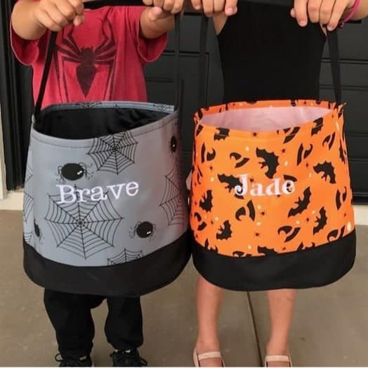 Personalized Trick or Treat Buckets Only $13.99