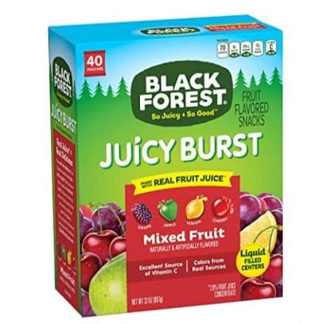 Black Forest Medley Juicy Center Fruit Snacks 40-Count Only $4.54