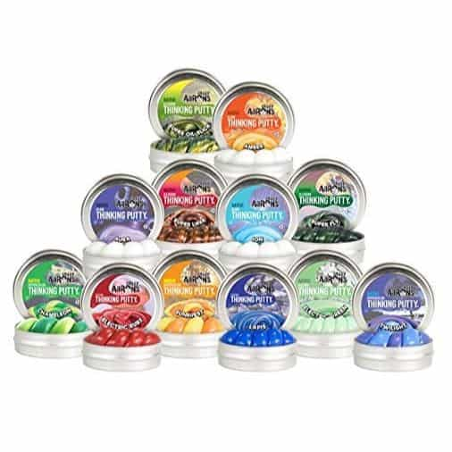 Crazy Aaron's Thinking Putty, 12 Mini Tins Bundle $29.99 **Today Only**