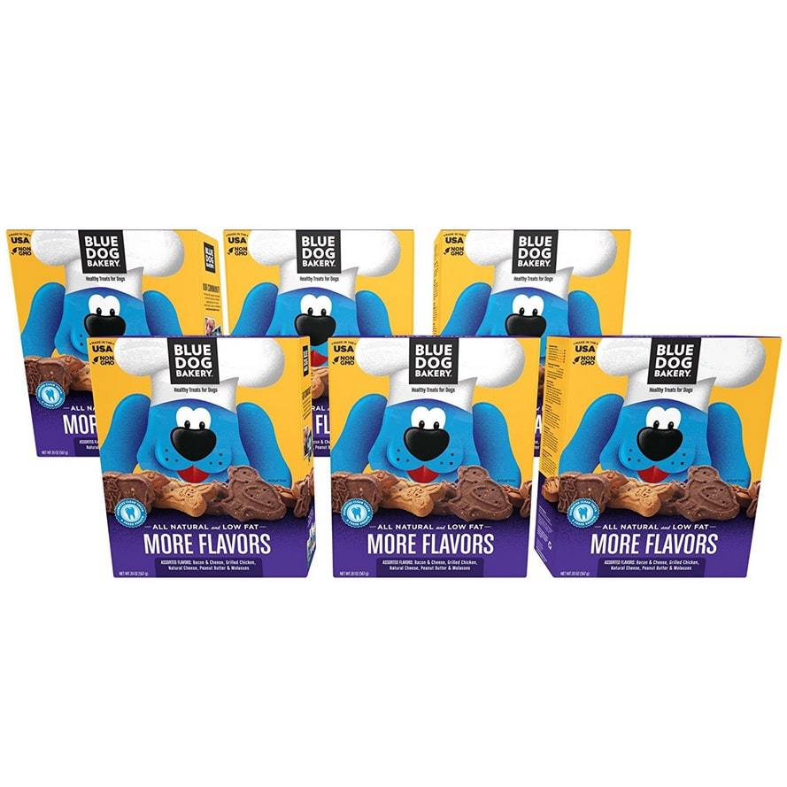 Blue Dog Bakery All-Natural Dog Treats 6-Pack Only $11.54