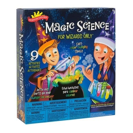 Scientific Explorer Magic Science for Wizards Kit Only $11.35 (Was $23.99)