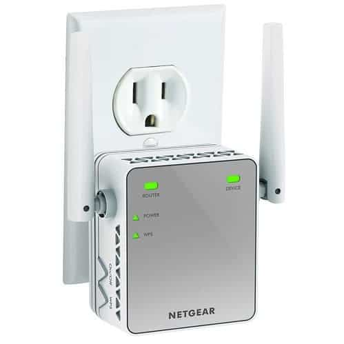 NETGEAR N300 WiFi Range Extender $20.99 (Was $49.99)