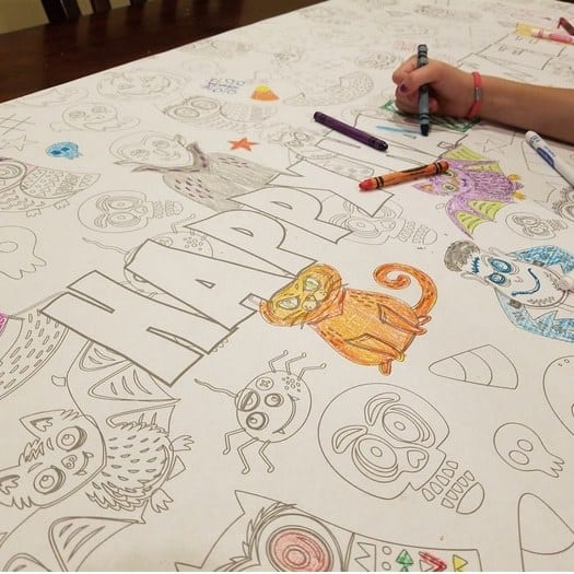Large Table Top Coloring Banners Only $5.99