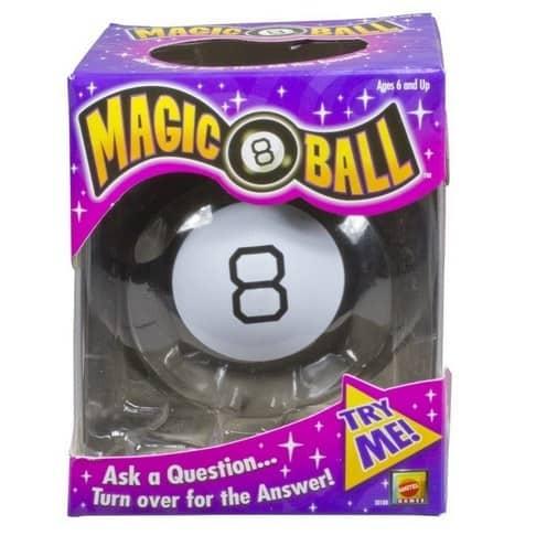 Mattel Games Magic 8 Ball Only $5.19