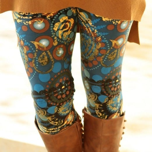 Super Soft Print Leggings Only $9.99 Each ~ 30 Styles Available!