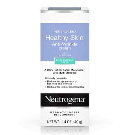 Neutrogena Healthy Skin Anti-Wrinkle Cream with Retinol & SPF 15 Sunscreen Only $7.83