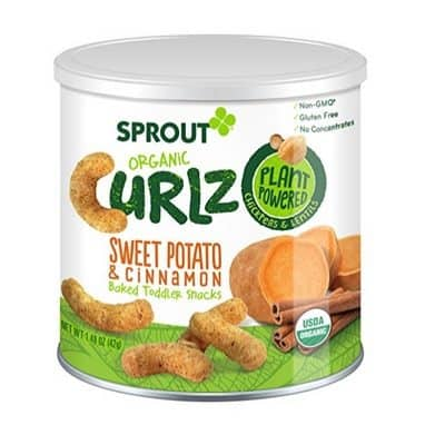 Sprout Organic Curlz Toddler Snacks Only $2.50