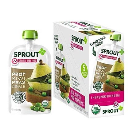 Sprout Organic Baby Food Pouches 5-Pack Only $4.93 + MORE!