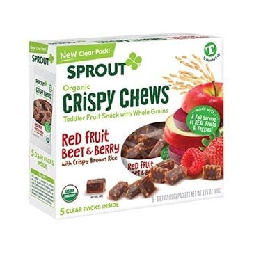 Sprout Crispy Chews Organic Toddler Snacks Only $2.59