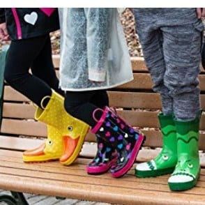 Rainbow Daze Kids Rain Boots Only $16.49 ~ 11 Styles **Today Only**