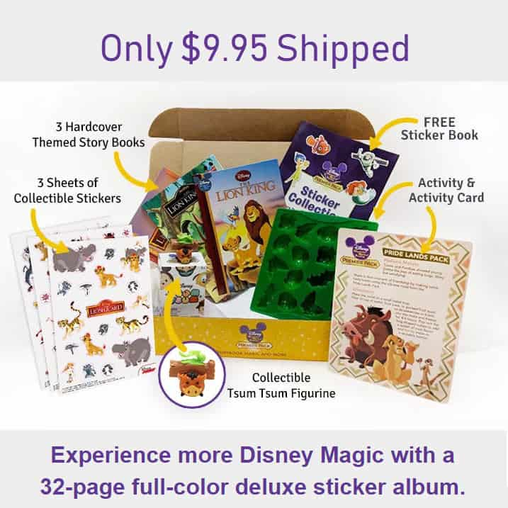 Disney Premier Pack Only $9.95 With Free Shipping