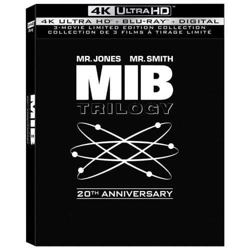 Men in Black Trilogy Blu-ray Set Only $25.96 (Was $39.99)