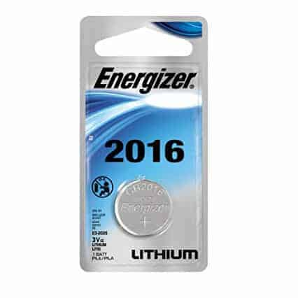 Energizer Lithium Coin Watch/Electronic Battery 2016, 2-Count Only $1.50