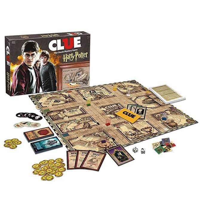 USAopoly Clue Harry Potter Board Game Only $33.98 (Was $39.99)