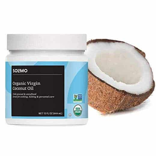 Solimo Organic Virgin Coconut Oil, Unrefined, 15 Ounce Only $3.40