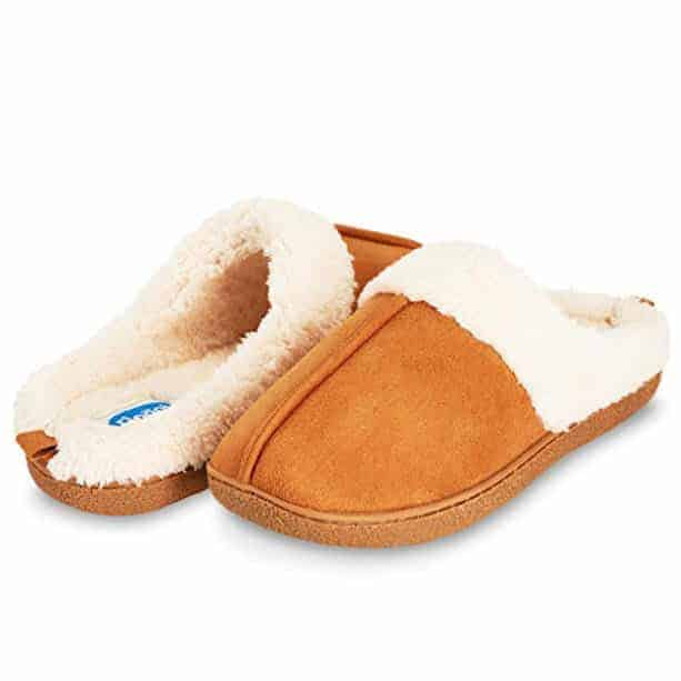 Floopi Womens Indoor Outdoor Fur Lined Clog Slipper Only $11.99 **Today Only**