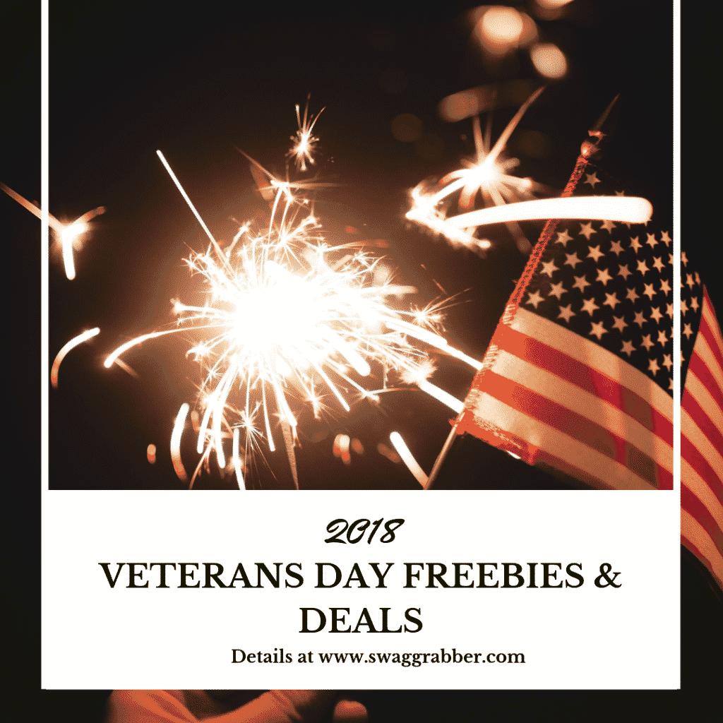 2018 Veteran's Day Freebies & Deals