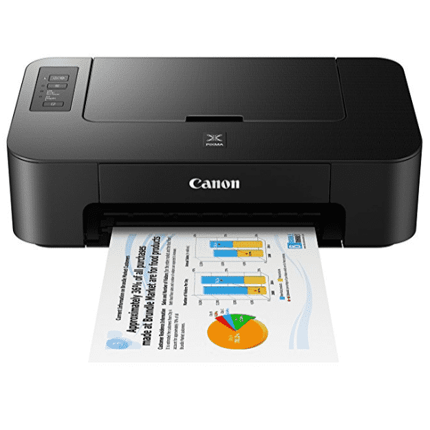 Canon TS202 Inkjet Photo Printer, Black Only $19.99 (Was $49.99)